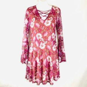 ✨NWT!✨Adam Levine Floral Dress